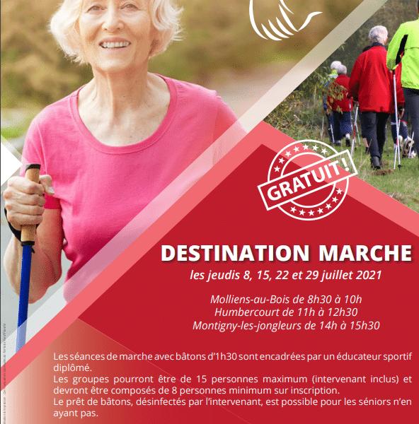 Destination marche
